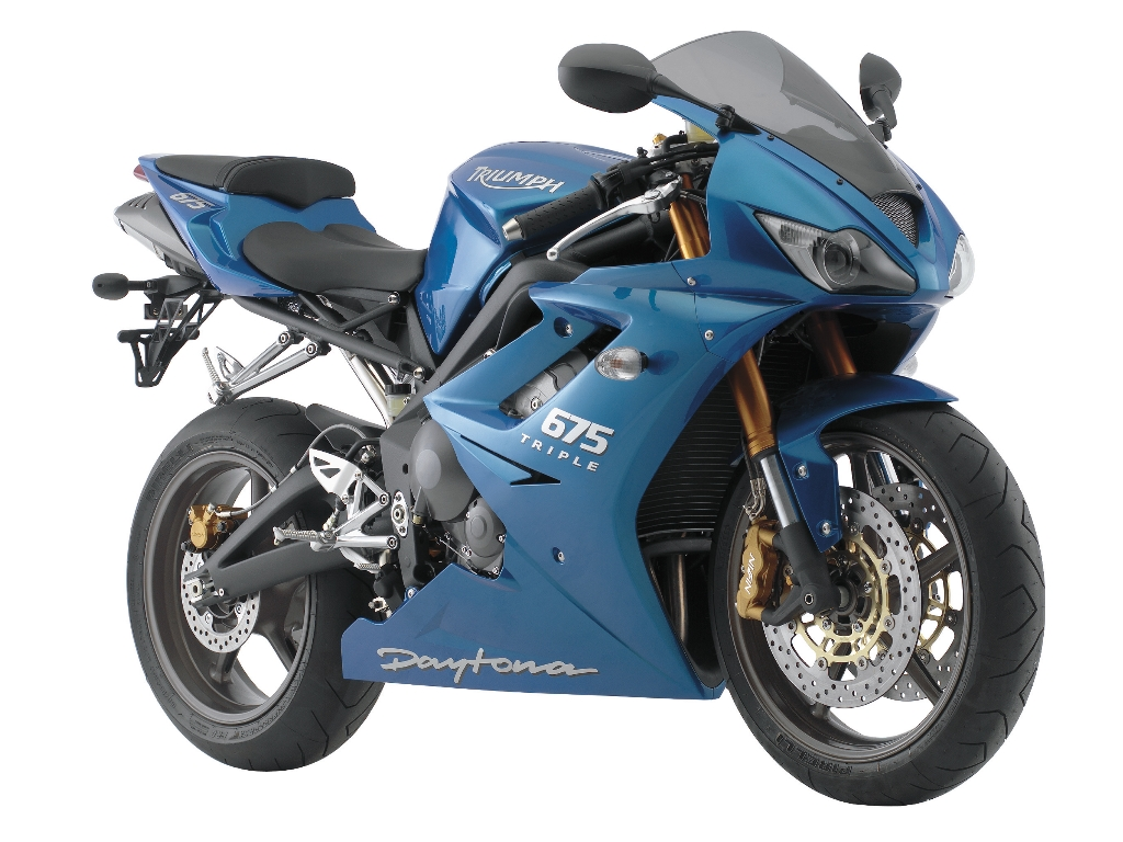 Triumph Daytona 675 Super Sport Bike