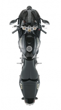 Top view of the 2008 Daytona 675 Special Edition.