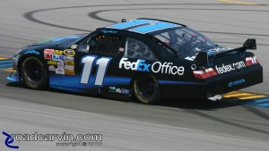 2008 NASCAR - Infineon Raceway - Denny Hamlin Turn 4a