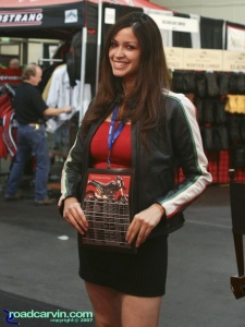 2007 Cycle World IMS - Ducati Girl