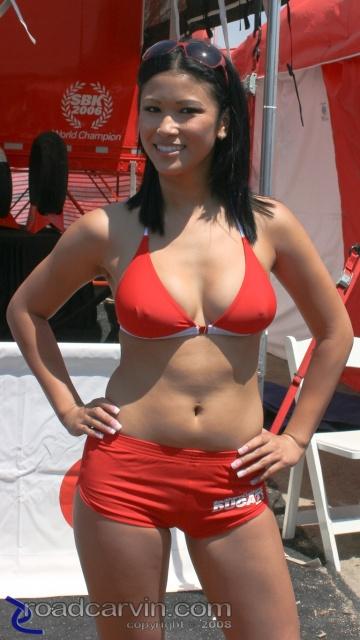 2008 MotoGP - Ducati Girl