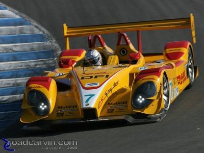 Dumas/Bernhard Porsche - Turn 8a
