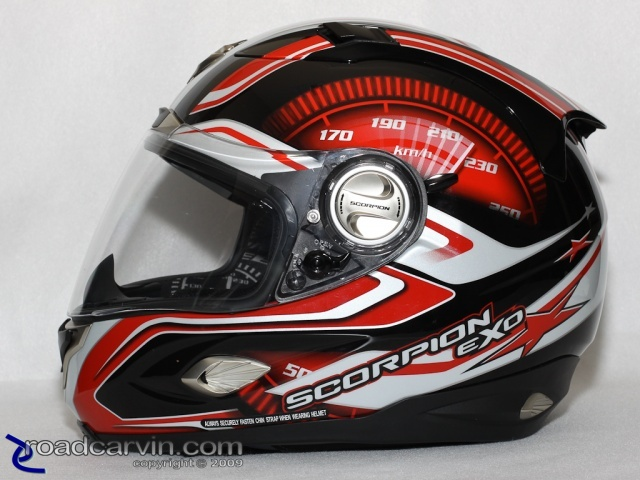 Scorpion Helmets - EXO-1000 - RPM Left Side