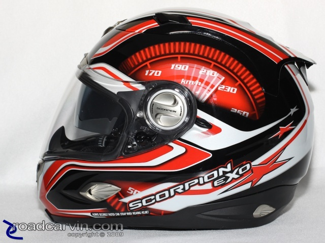Scorpion Helmets - EXO-1000 - RPM SpeedView Visor