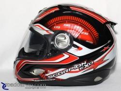 Scorpion Helmets - EXO-1000 - RPM SpeedView Visor