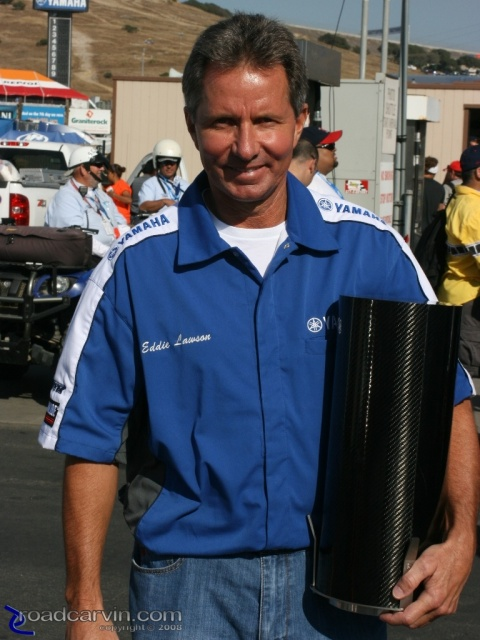 2008 MotoGP -Eddie Lawson - Legends of Laguna Seca