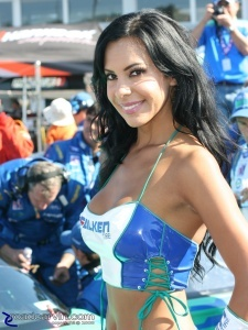 2008 Monterey Sports Car Championships - Falken Tire Girl