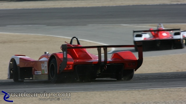 2008 Monterey Sports Car Championships - Gary Gibson - Sideways in Turn 2