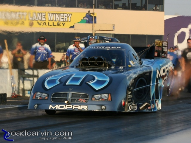 2008 Infineon NHRA - Gary Scelzi - Wide Open Throttle