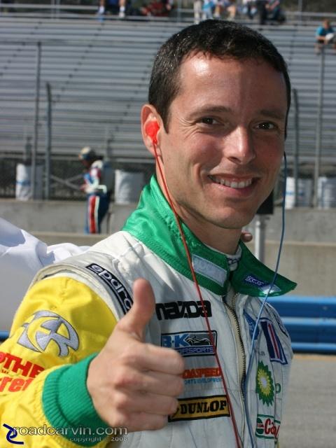 2008 Monterey Sports Car Championships - Gerardo Bonilla - Portrait