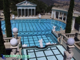 Hearst Castle - The Pool: The magnificent pool at Hearst Castle. There must have been some wild parties when W. R. Hearst hosted the Hollywood Stars.