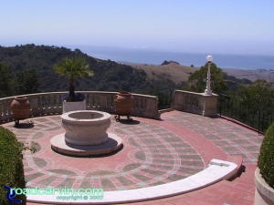 Hearst Castle - View to the Coast