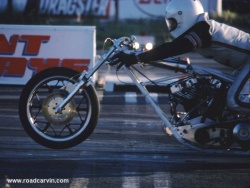 Harley Drag Bike Launch