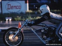 Harley Dragbike Staged