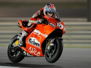 Nicky Hayden: Photo courtesy of Ducati Team, all rights reserved.