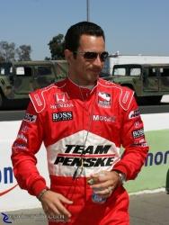 2008 Sonoma Grand Prix - Helio Castroneves - Pre Race