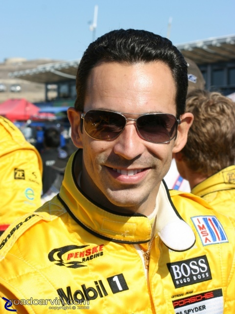 2008 Monterey Sports Car Championships - Helio Castroneves - Portrait