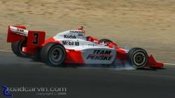 2008 Sonoma Grand Prix - Helio Castroneves - Locked Up