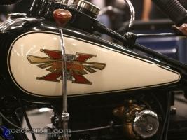 Henderson: Henderson Excelsior Motor Mfg. vintage motorcycle.