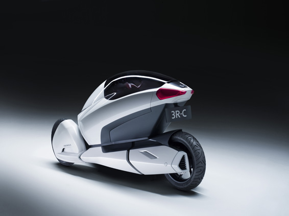 Honda 3R-C Concept - Left Rear