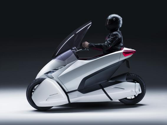 Honda 3R-C Concept - Rider