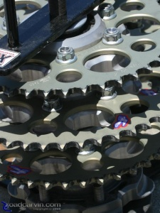 2008 AMA Test - Rear Sprockets