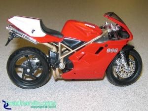 Macro Photo taken with Canon S80 - Ducati