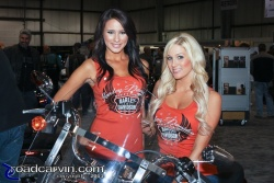 2011 IMS - Harley Girls