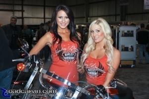 2011 IMS - Harley Girls