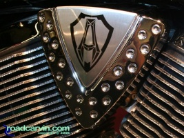 Victory Arlen Ness Detail: Awesome attention to detail on the Arlen Ness inspired Victory motorcycle engine.