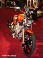 2007 Victory Vegas - Front: Front view of 2007 Victory Vegas.