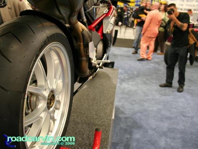 MV Agusta Senna rear