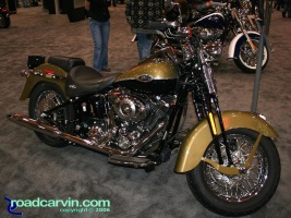 Harley Davidson Softail Springer: This 2007 Harley-Davidson Softail Springer really captures the vintage look with the Olive Pearl and Black paint scheme.