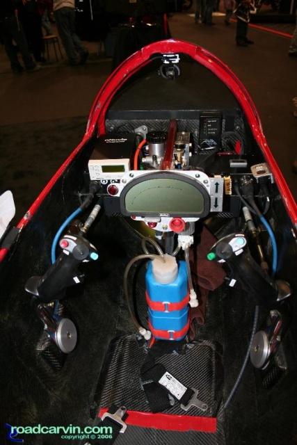 Bub Streamliner Cockpit