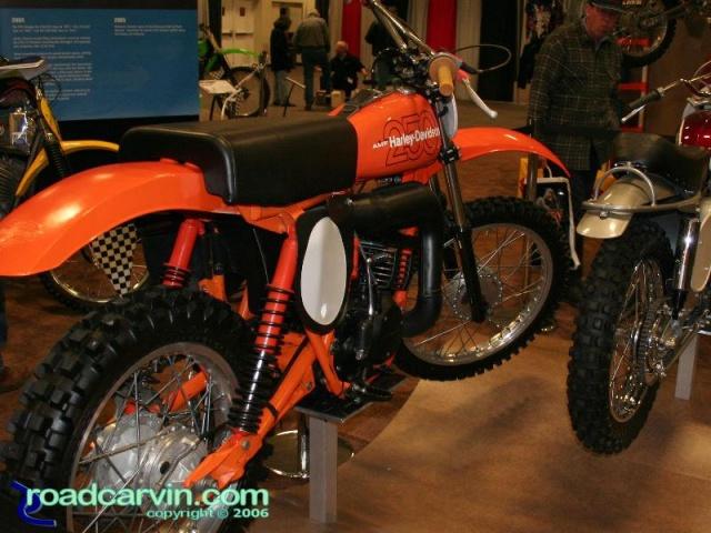 Vintage Harley-Davidson 250