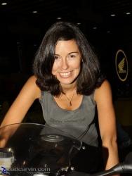 2009 IMS Show - BMW Motorrad Girl