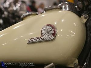 2008 Arlen Ness Bike Show - Indian Tank Logo