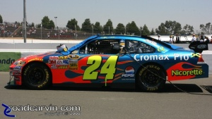 2008 NASCAR - Infineon Raceway - Jeff Gordon - Pre-Race