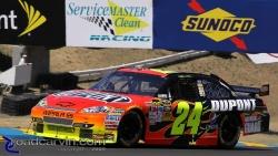 2009 NASCAR - Infineon Raceway - Jeff Gordon Turn 2