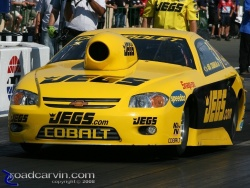 2008 Infineon NHRA - Jeg Coughlin - Pro Stock Launch