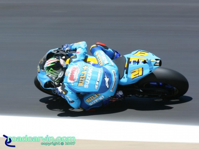 2007 Red Bull U.S. Grand Prix MotoGP - John Hopkins