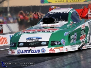 2009 Fram Autolite NHRA Nationals - On the Line with John Force