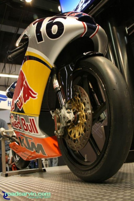 2007 Cycle World IMS - KTM Racer - Front View