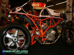 2007 Cycle World IMS - KTM Rooke Custom - Side