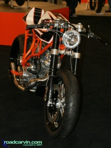2007 Cycle World IMS - KTM Rooke Custom - Front