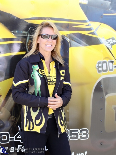 2009 Fram Autolite NHRA Nationals - Karen Stoffer Portrait