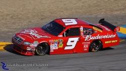 2009 NASCAR - Infineon Raceway - Kasey Kahne Turn 4