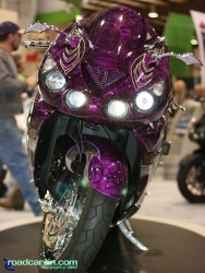 2007 Cycle World IMS - Kawasaki ZX-14 Custom - Front