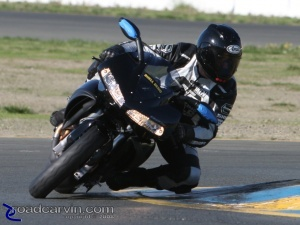 Ken Hill puts the Buell 1125R to work at Infineon