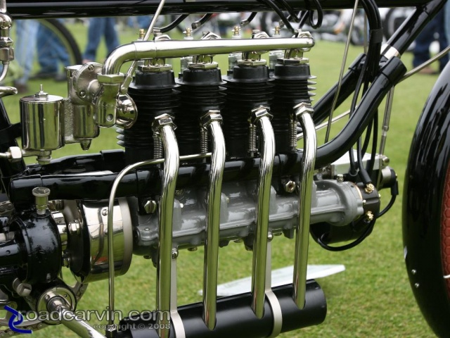 2008 LOTM - 1904 Fabrique National - Engine